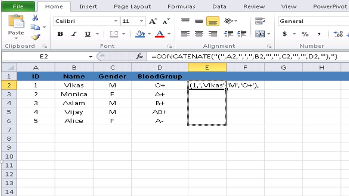 How To Import Data From Excel To Sql Server Table By