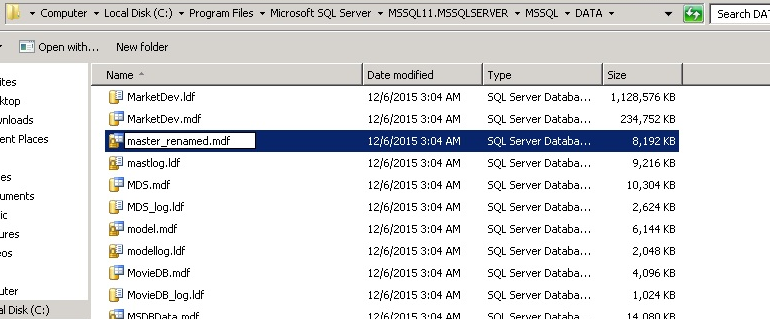 SQL Server : The request failed or the service did not respond in a timely fashion.Consult the event log or other application error logs for details