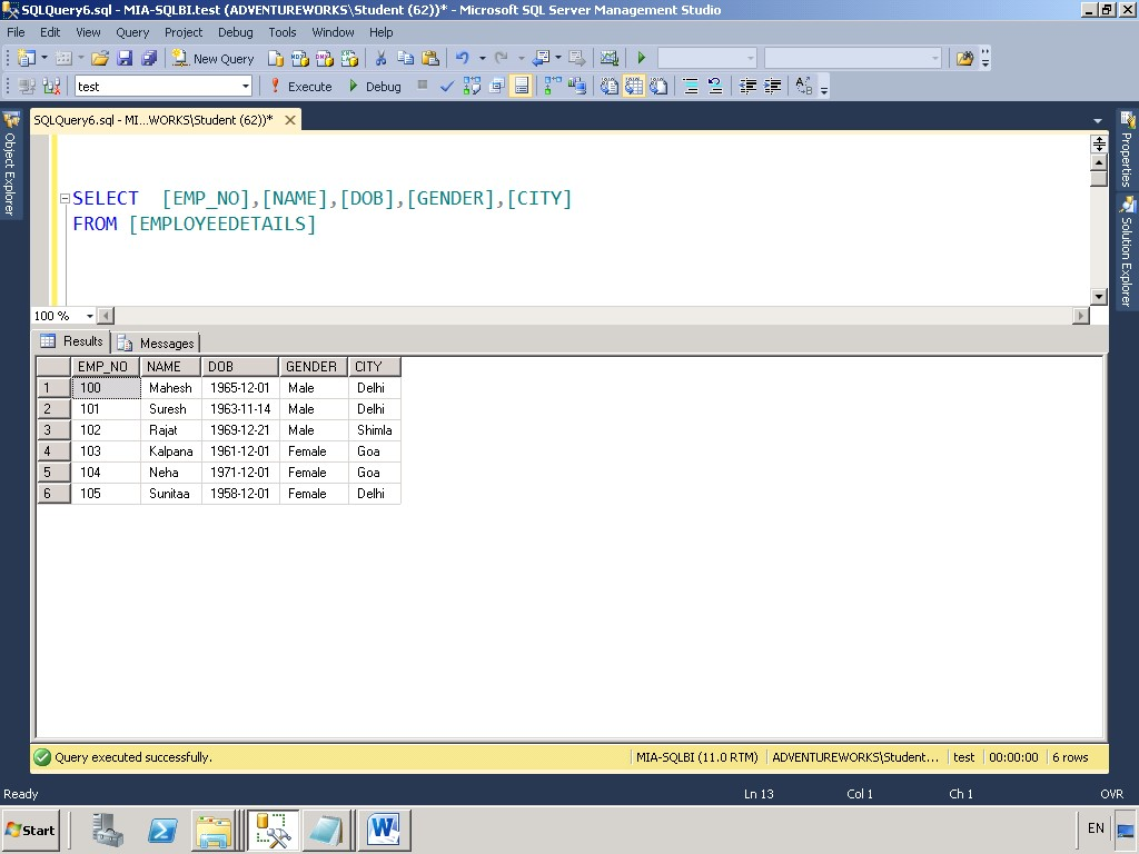 Best Practice while performing DML operations (insert, update, delete) in SQL  Server - SQL Server Training