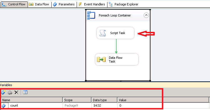 foreach loop ssis restrict execution